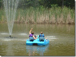 Jace Kate paddle boat