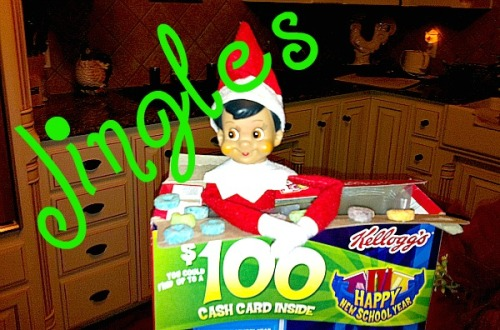 Jingles Elf on the Shelf