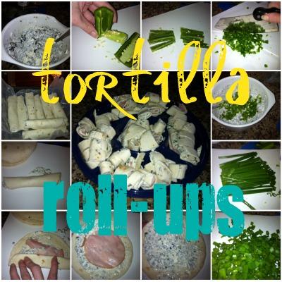 tortilla roll-ups appetizer recipe